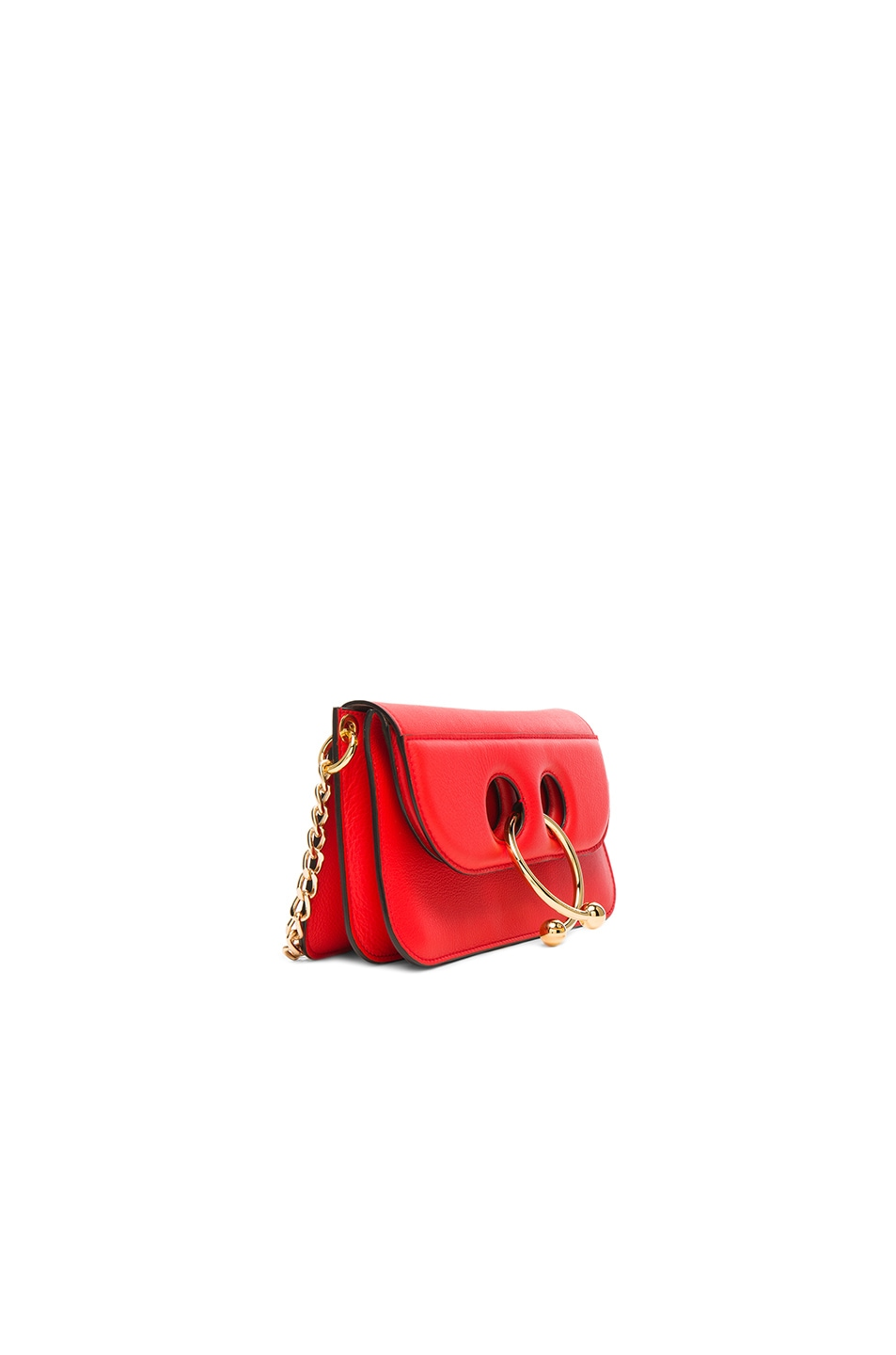 Image 3 of J.W. Anderson Small Pierce Bag in Scarlet