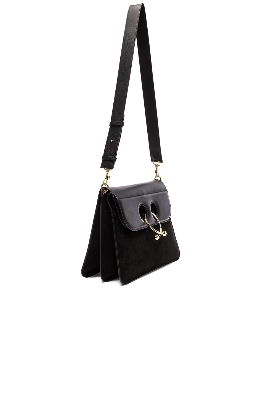 Image 3 of J.W. Anderson Large Pierce Bag in Black