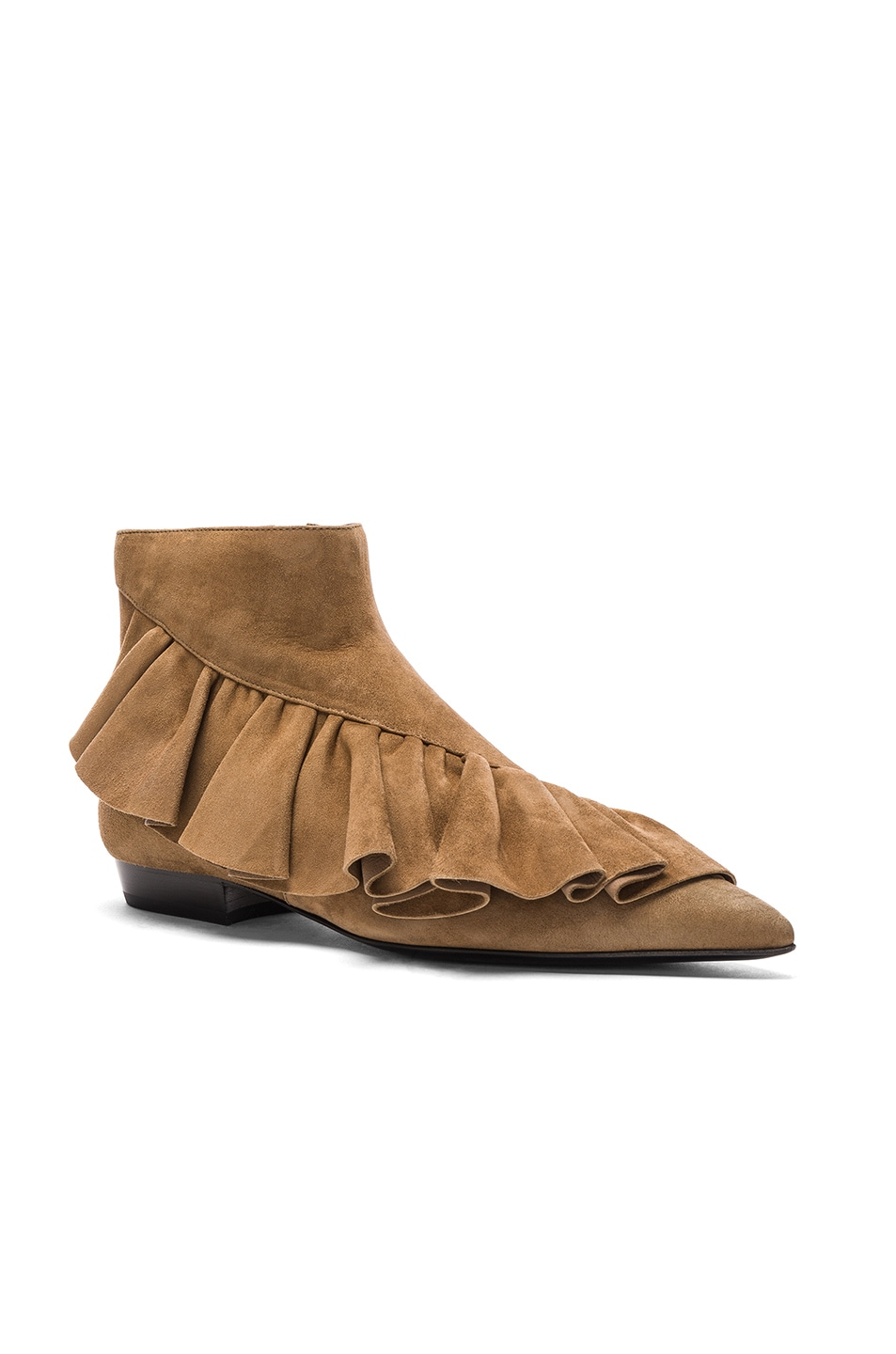 J.W.ANDERSON Suede Ruffle Booties