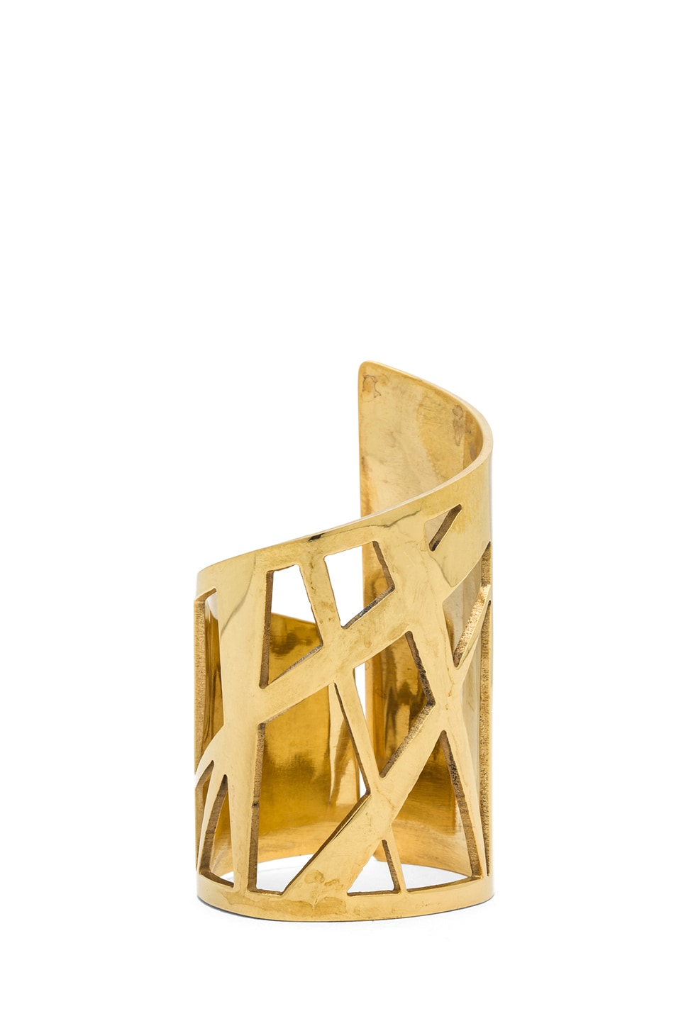 Image 1 of Kelly Wearstler Intersecting Cuff in Gold