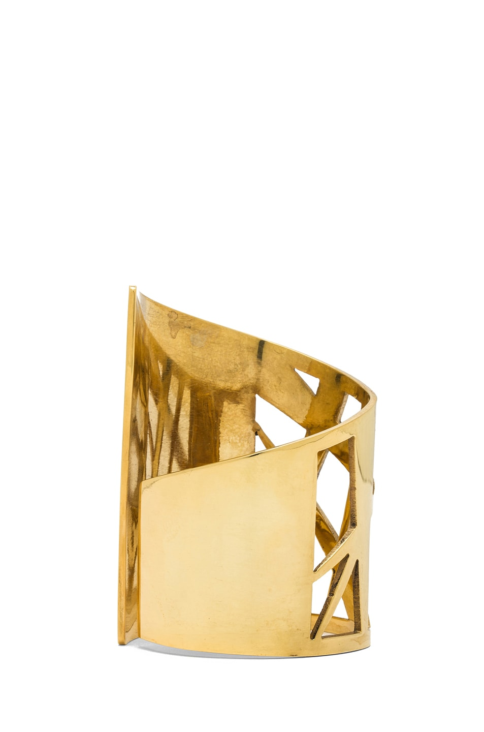 Image 2 of Kelly Wearstler Intersecting Cuff in Gold