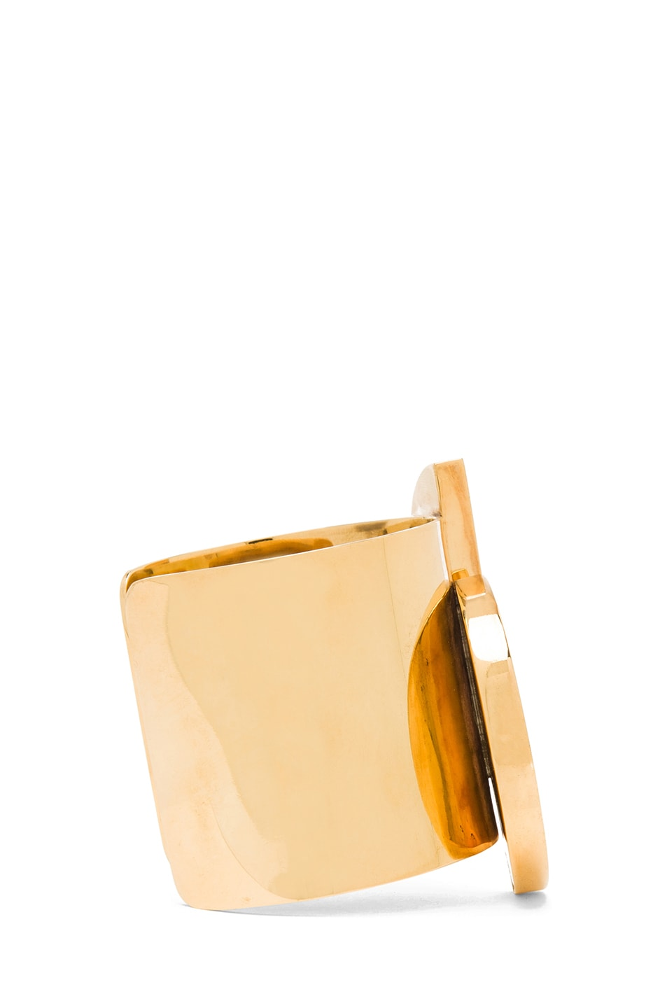 Image 2 of Kelly Wearstler Marco Cuff in Gold & Lapis