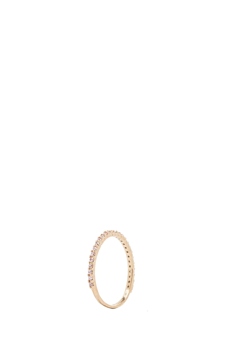 Image 4 of Kelly Wearstler Victoria Gold Plated Ring in Gold
