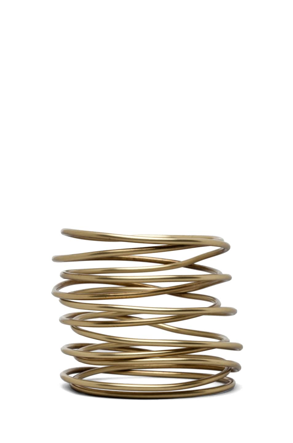 Image 1 of Kelly Wearstler Twisted Bracelet in Brass