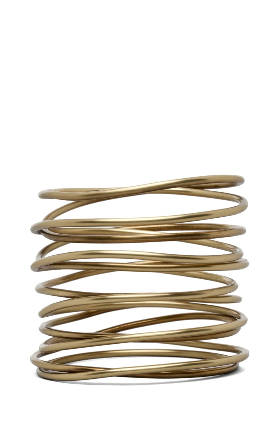 Image 2 of Kelly Wearstler Twisted Bracelet in Brass