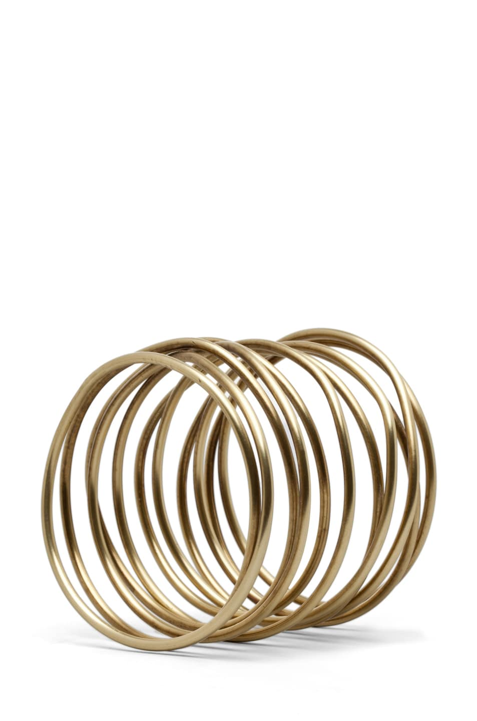 Image 3 of Kelly Wearstler Twisted Bracelet in Brass