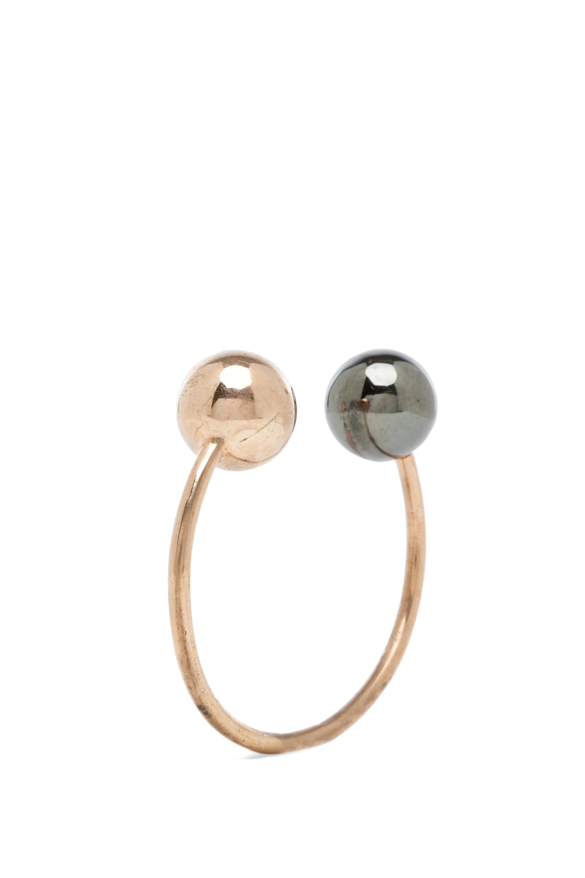 Image 1 of Kelly Wearstler Mixed Sphere Bracelet in Gold & Gunmetal