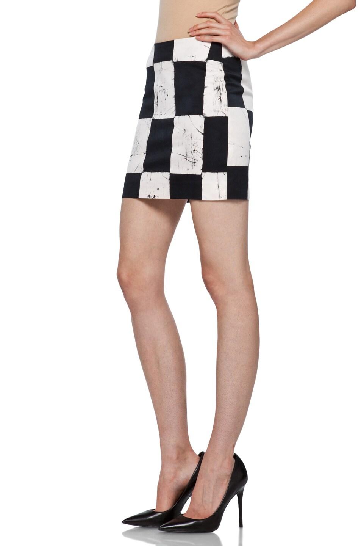 Image 2 of Kelly Wearstler Craft Skirt in Ink