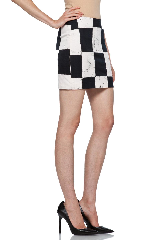 Image 3 of Kelly Wearstler Craft Skirt in Ink