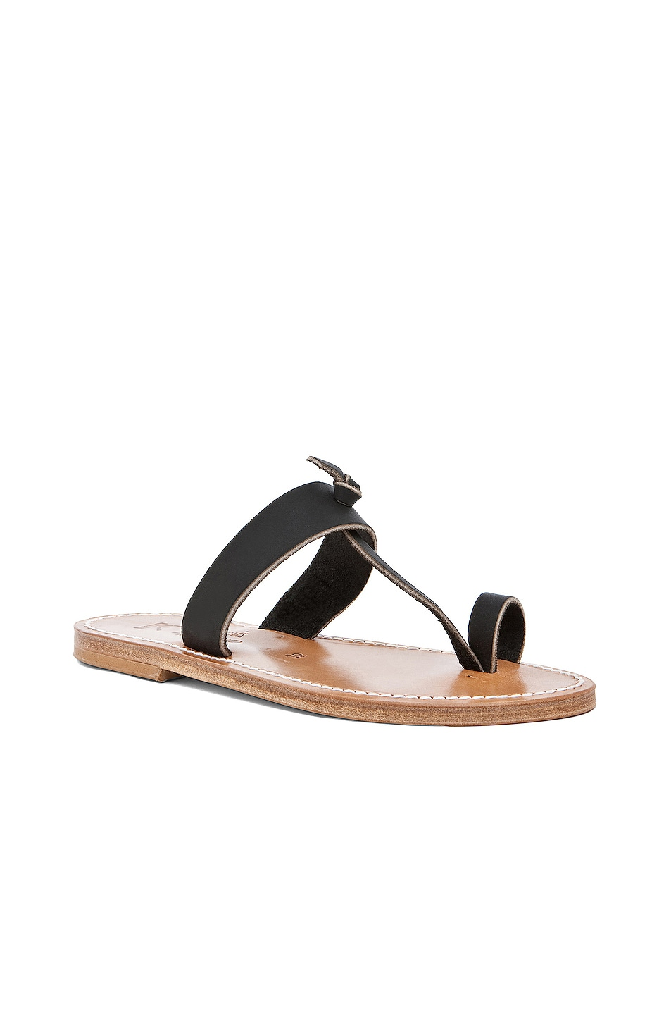 Image 2 of K Jacques Ganges Slip On Sandals in Black