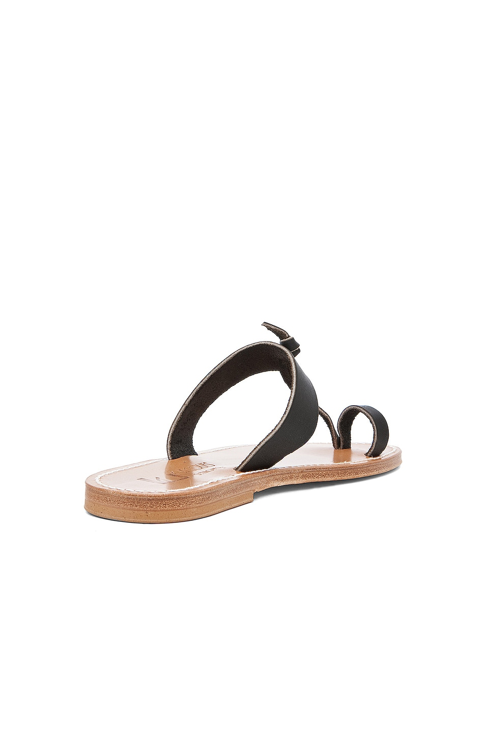 Image 3 of K Jacques Ganges Slip On Sandals in Black