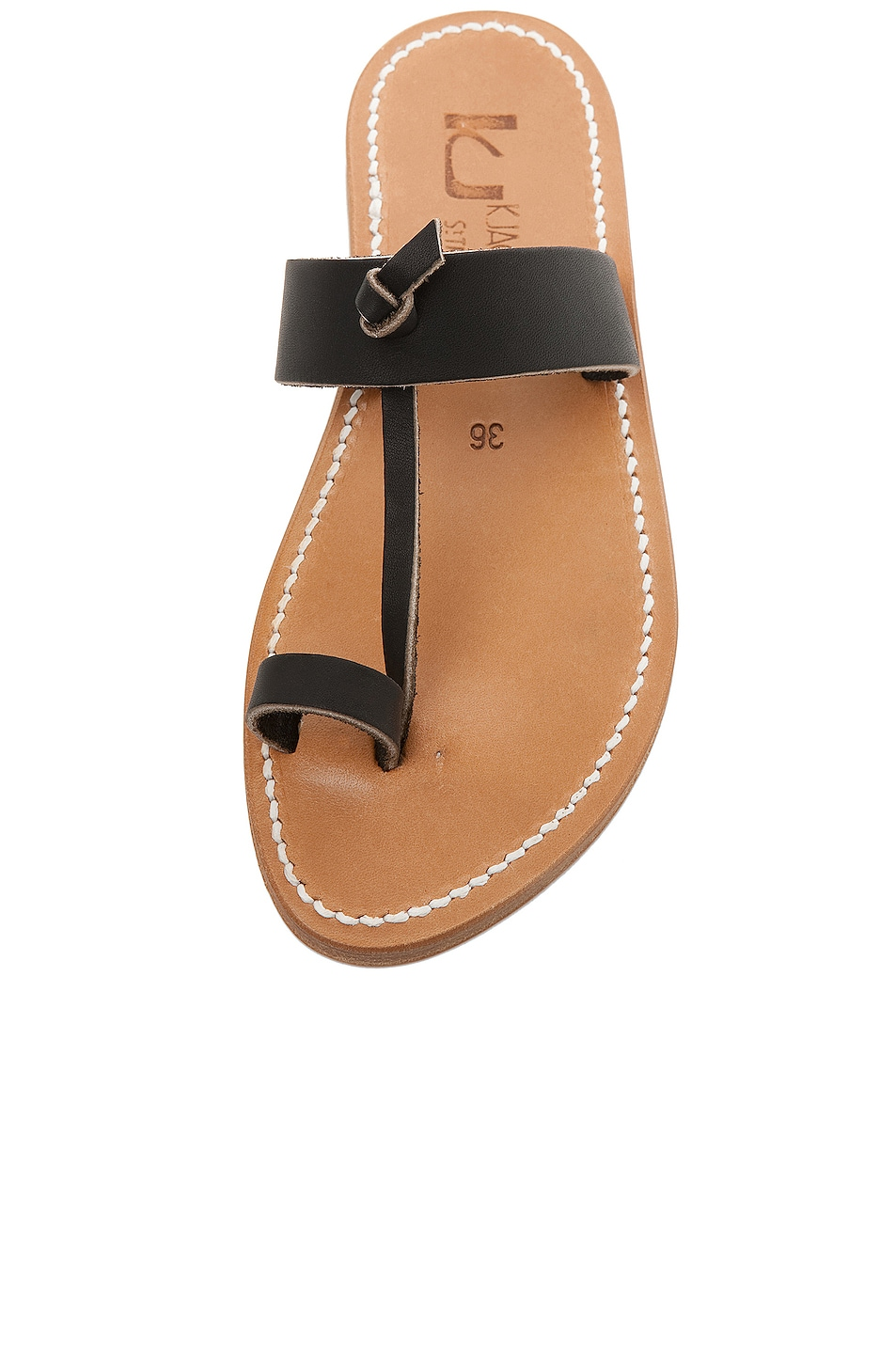 Image 4 of K Jacques Ganges Slip On Sandals in Black