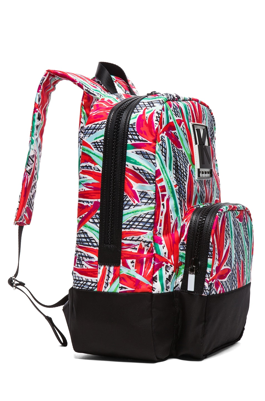 Image 3 of KENZO Birds of Paradise Backpack in Flame Orange