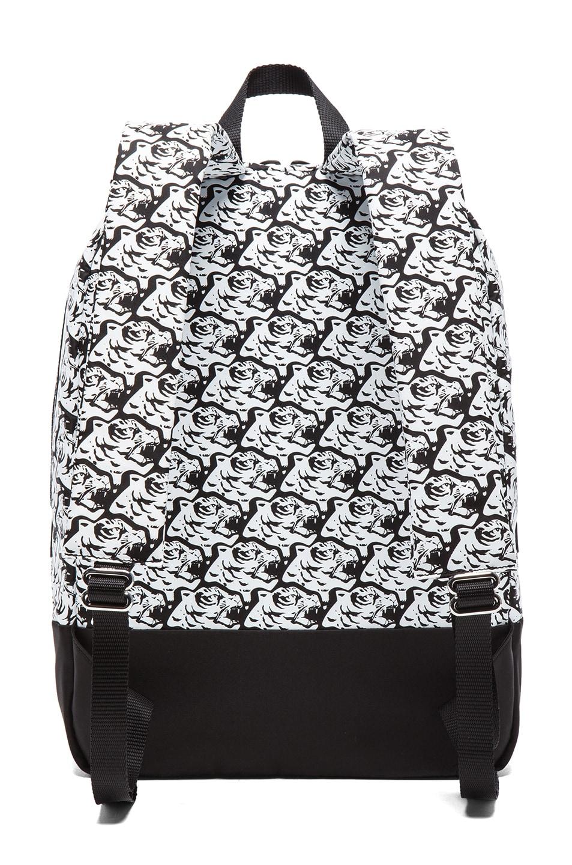 Image 2 of KENZO Herringbone Tiger Backpack in Black