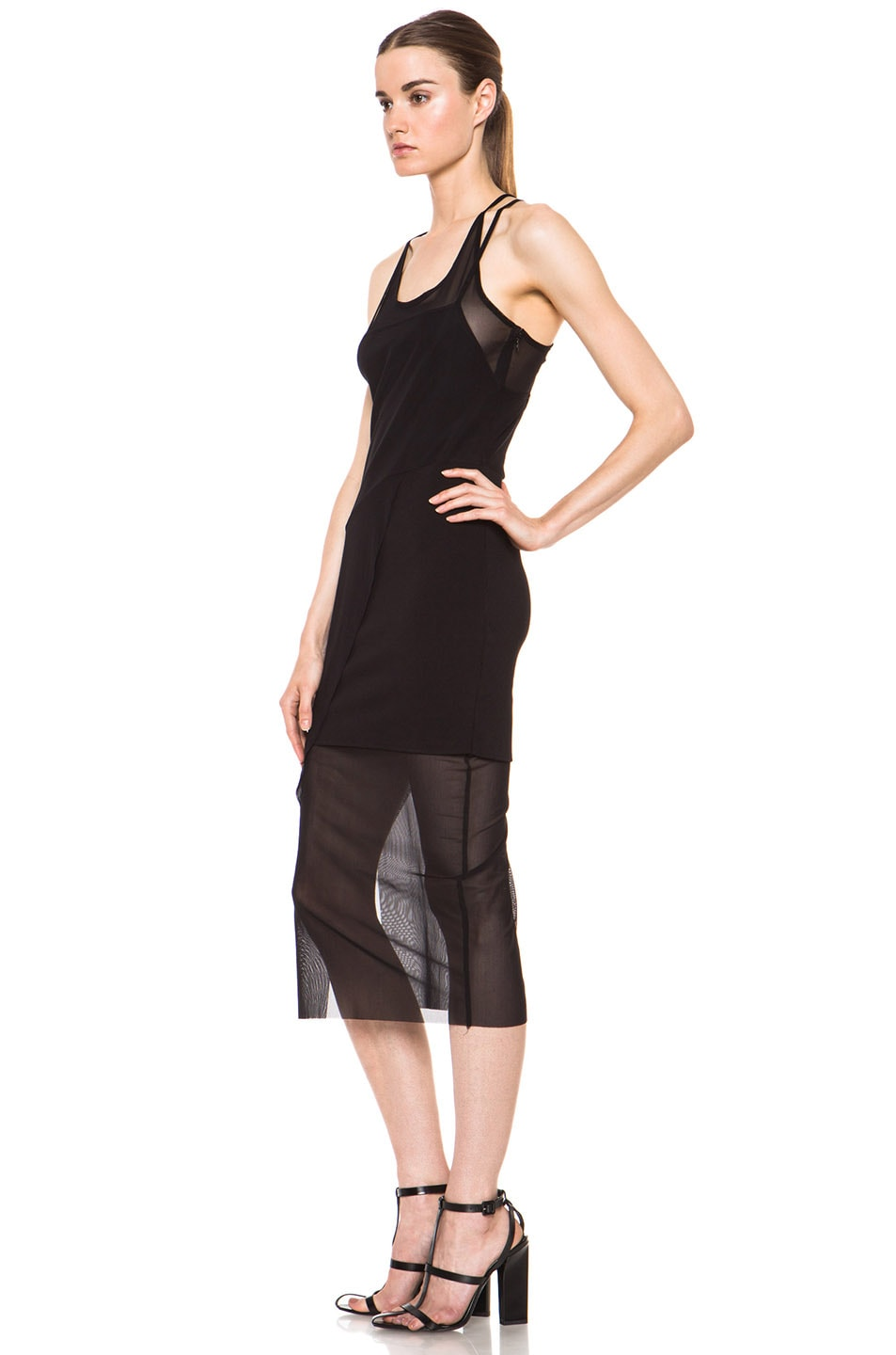 Image 2 of Kimberly Ovitz Kimek Polyamide-Blend Dress in Black