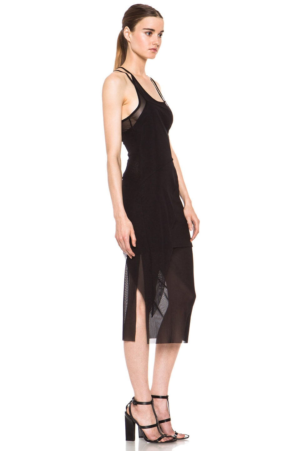 Image 3 of Kimberly Ovitz Kimek Polyamide-Blend Dress in Black