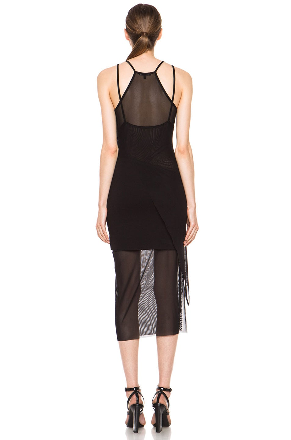 Image 4 of Kimberly Ovitz Kimek Polyamide-Blend Dress in Black