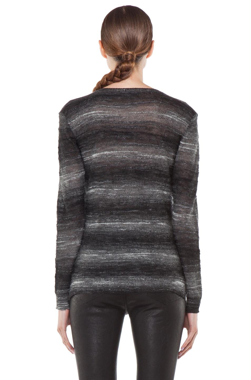 Image 4 of Kimberly Ovitz Vaso Tuck Front Sweater in Onyx