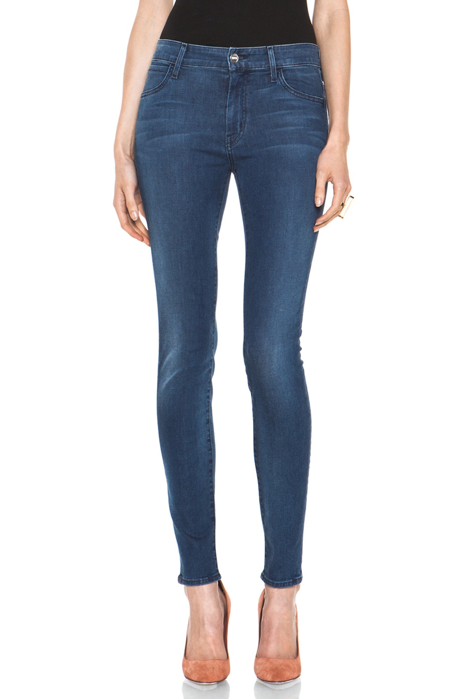 Image 1 of Koral November Twelve Coated High Rise Skinny in 12 Months