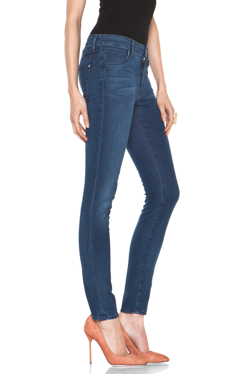 Image 3 of Koral November Twelve Coated High Rise Skinny in 12 Months