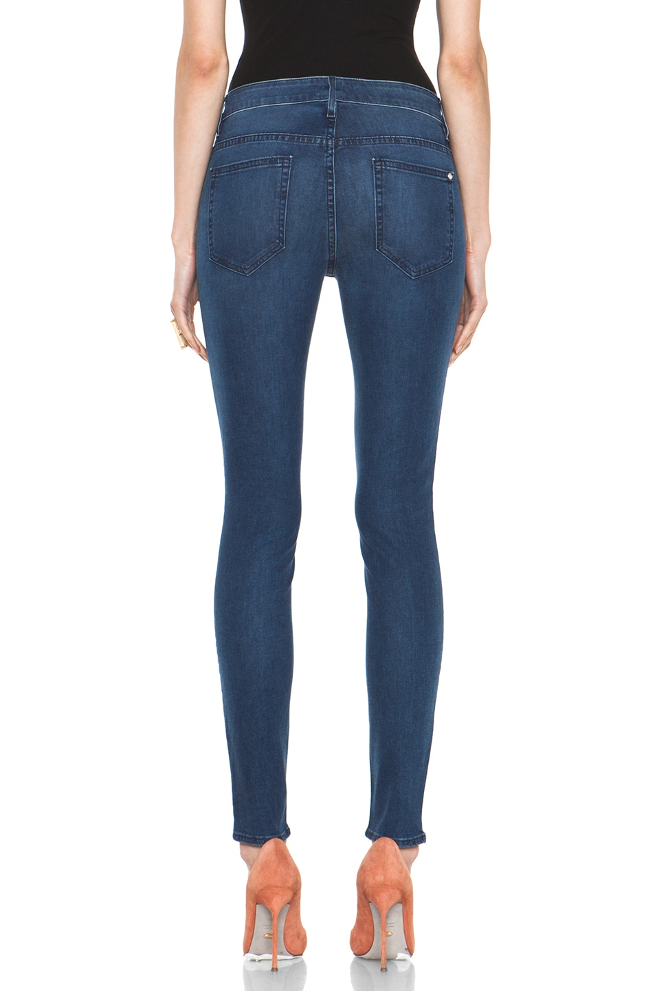 Image 4 of Koral November Twelve Coated High Rise Skinny in 12 Months