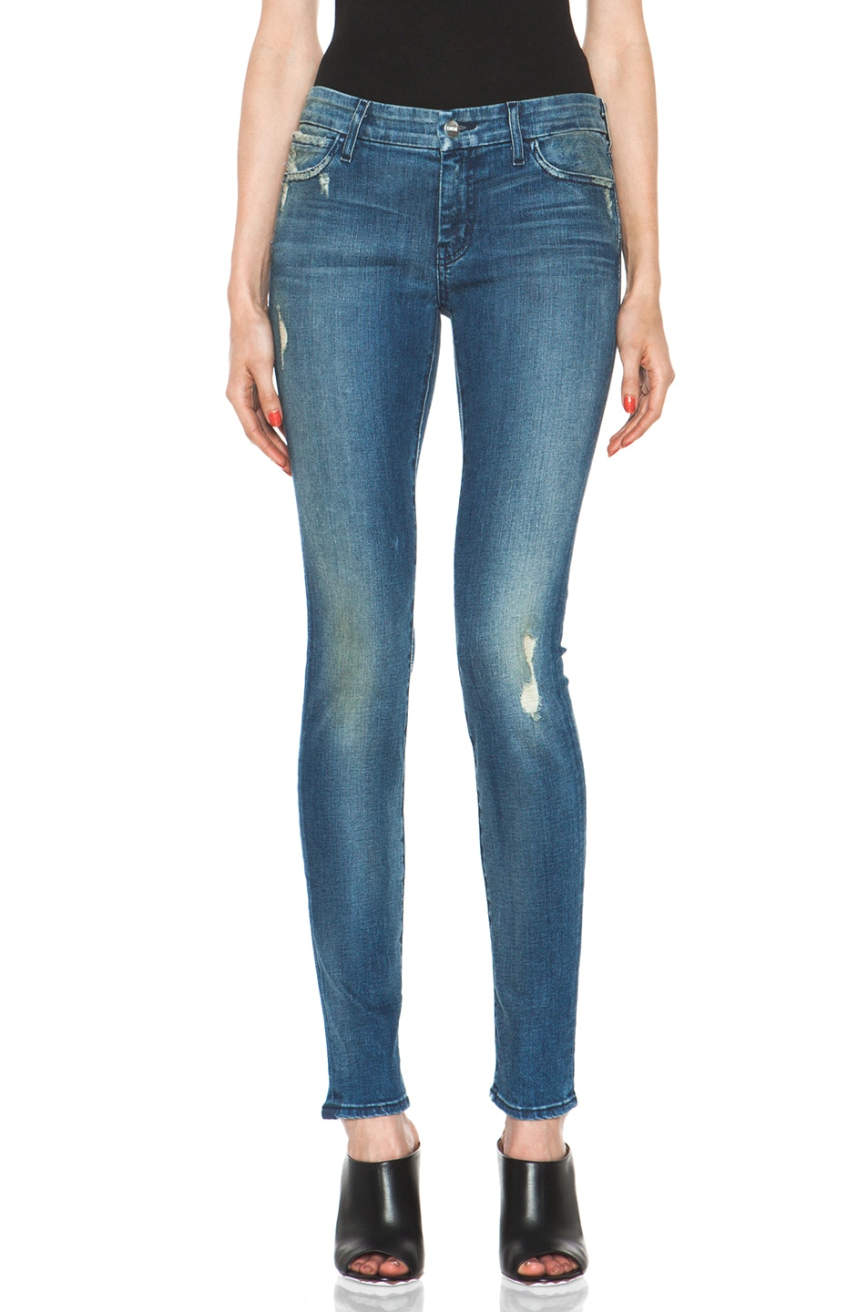 Image 1 of Koral Skinny in Medium Blue