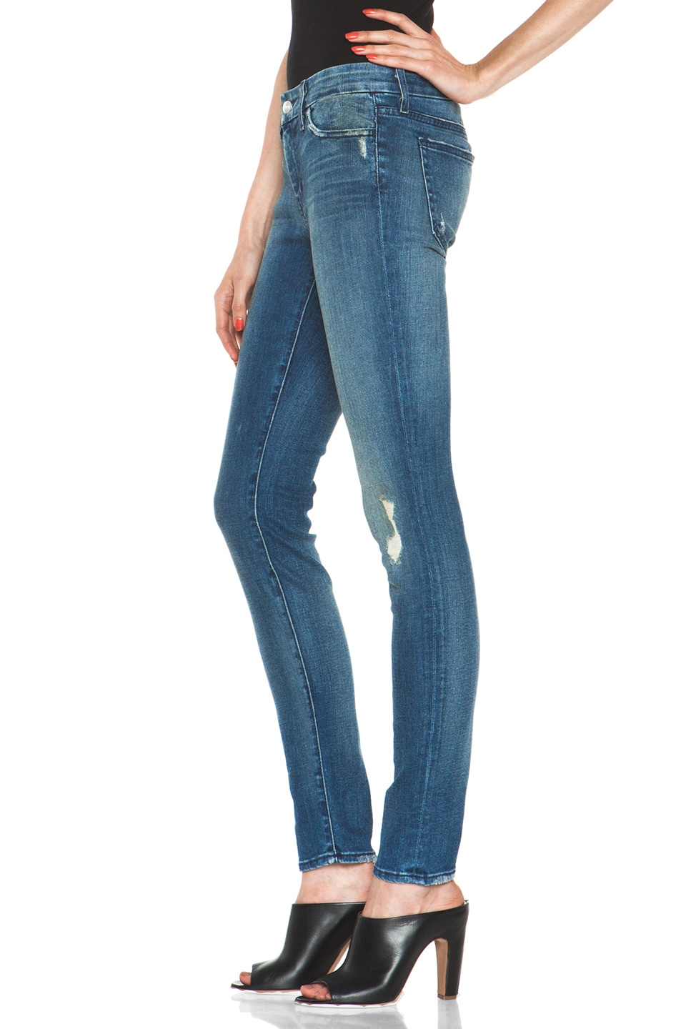 Image 2 of Koral Skinny in Medium Blue