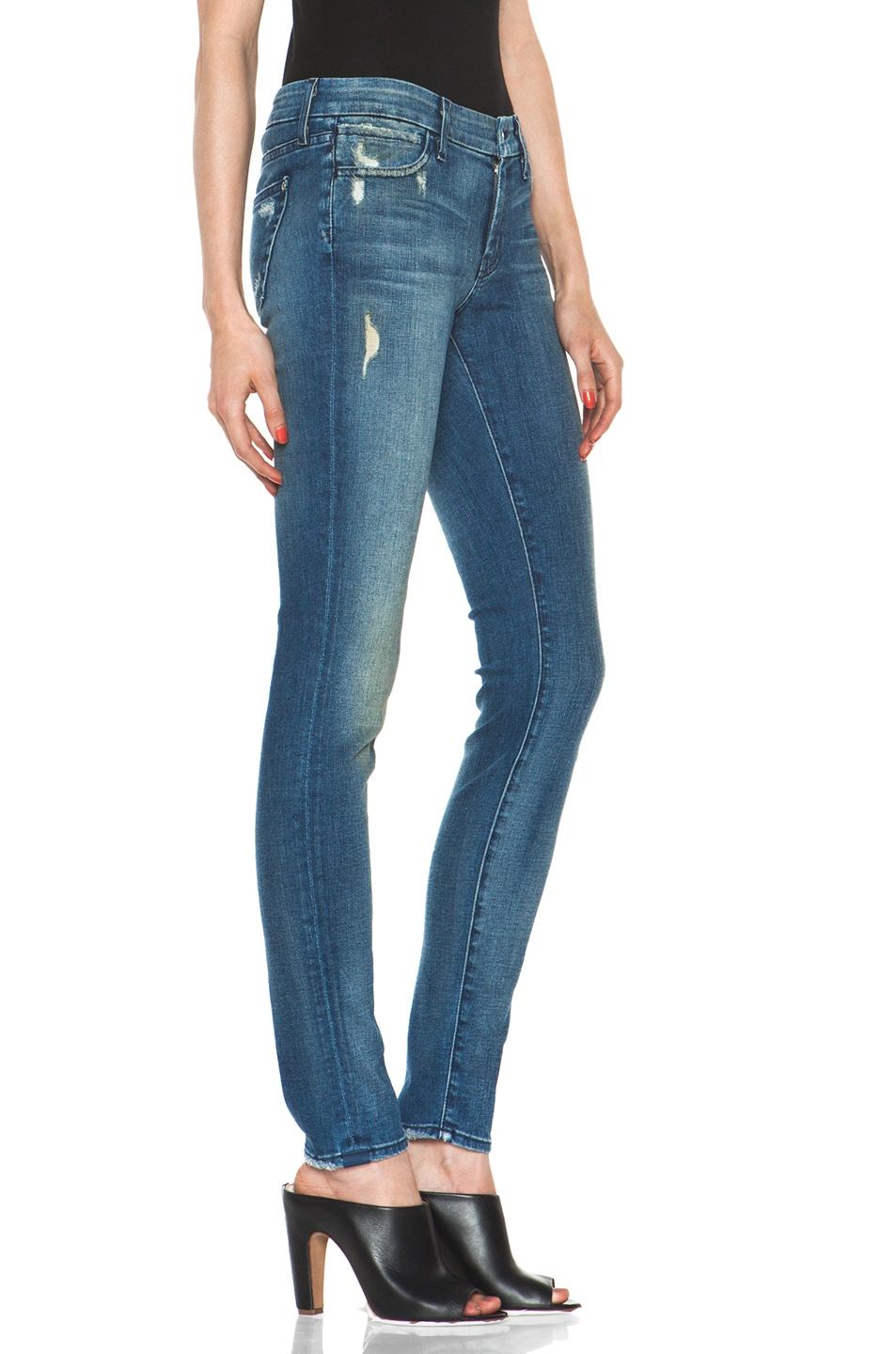 Image 3 of Koral Skinny in Medium Blue