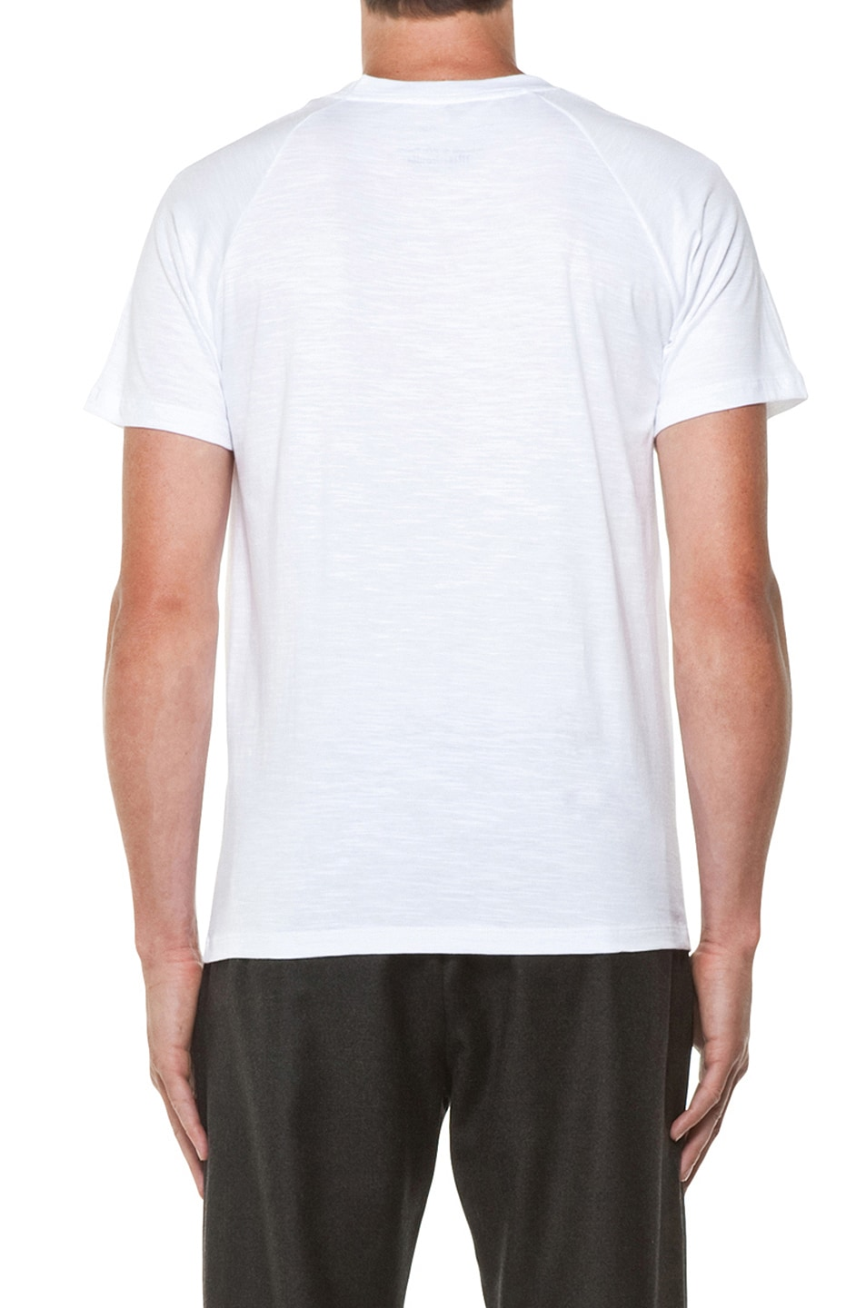 Image 4 of Kris Van Assche Crew Neck Tee in White