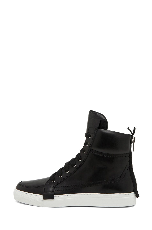 Image 1 of Kris Van Assche Lace Up Sneaker in Black