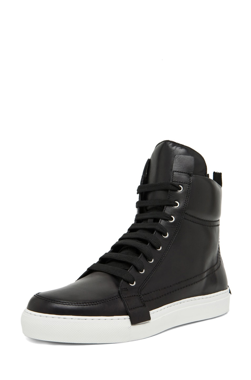 Image 2 of Kris Van Assche Lace Up Sneaker in Black