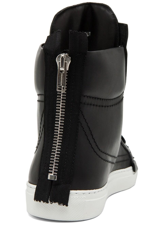 Image 3 of Kris Van Assche Lace Up Sneaker in Black