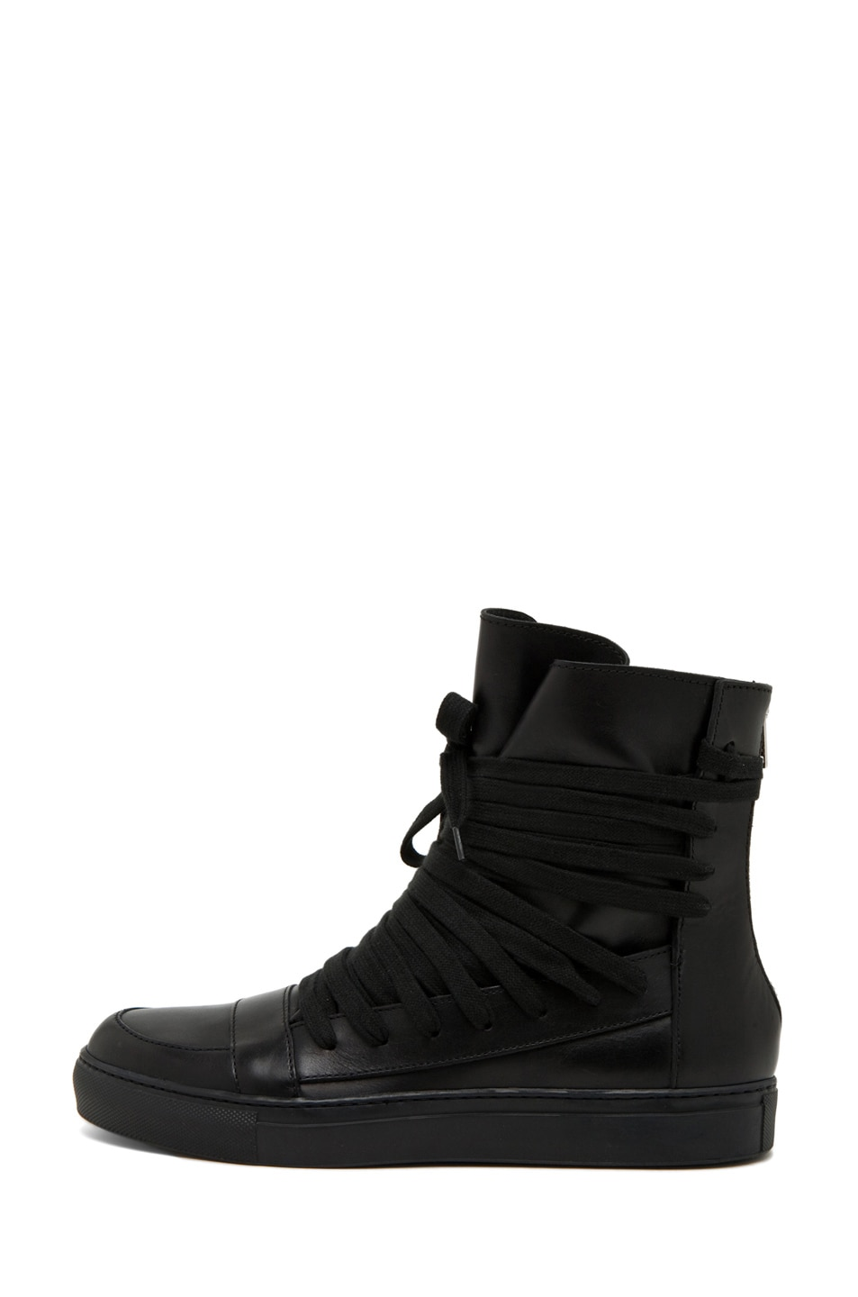 Image 1 of Kris Van Assche Laces Sneaker in Black