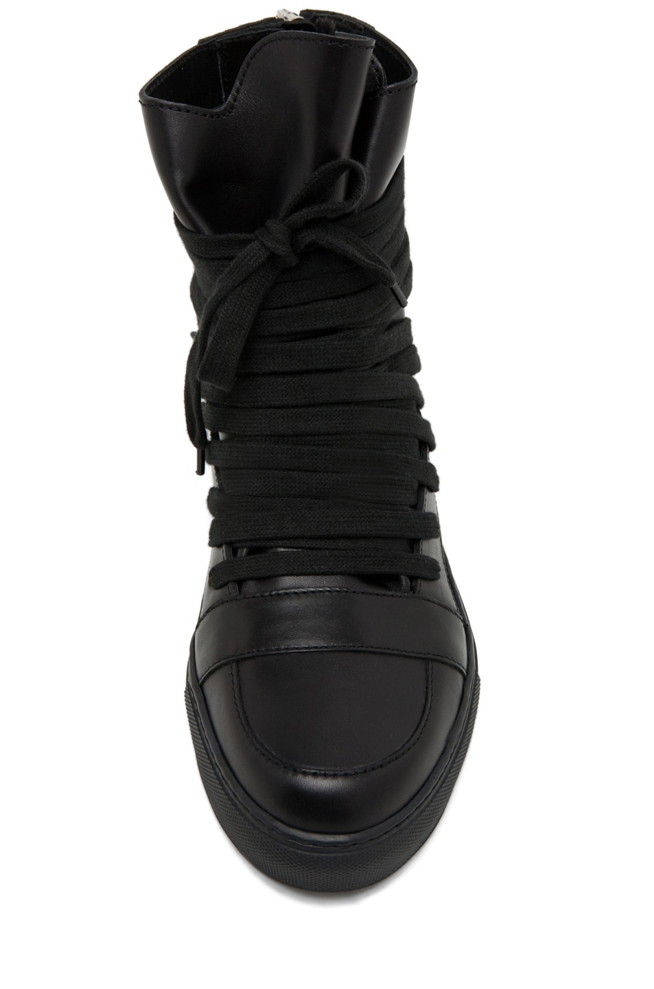 Image 4 of Kris Van Assche Laces Sneaker in Black