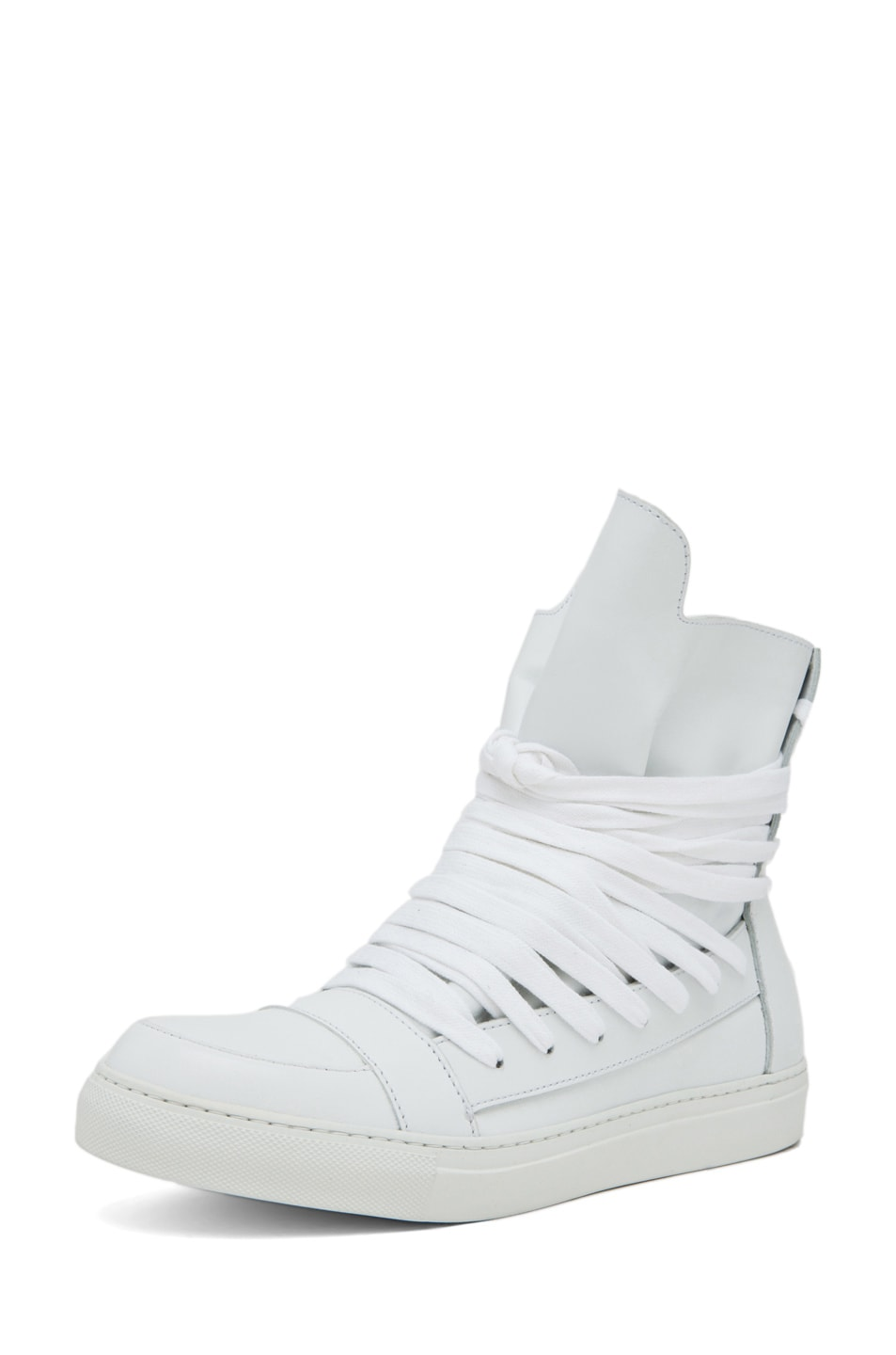 Image 2 of Kris Van Assche Laces Sneaker in White