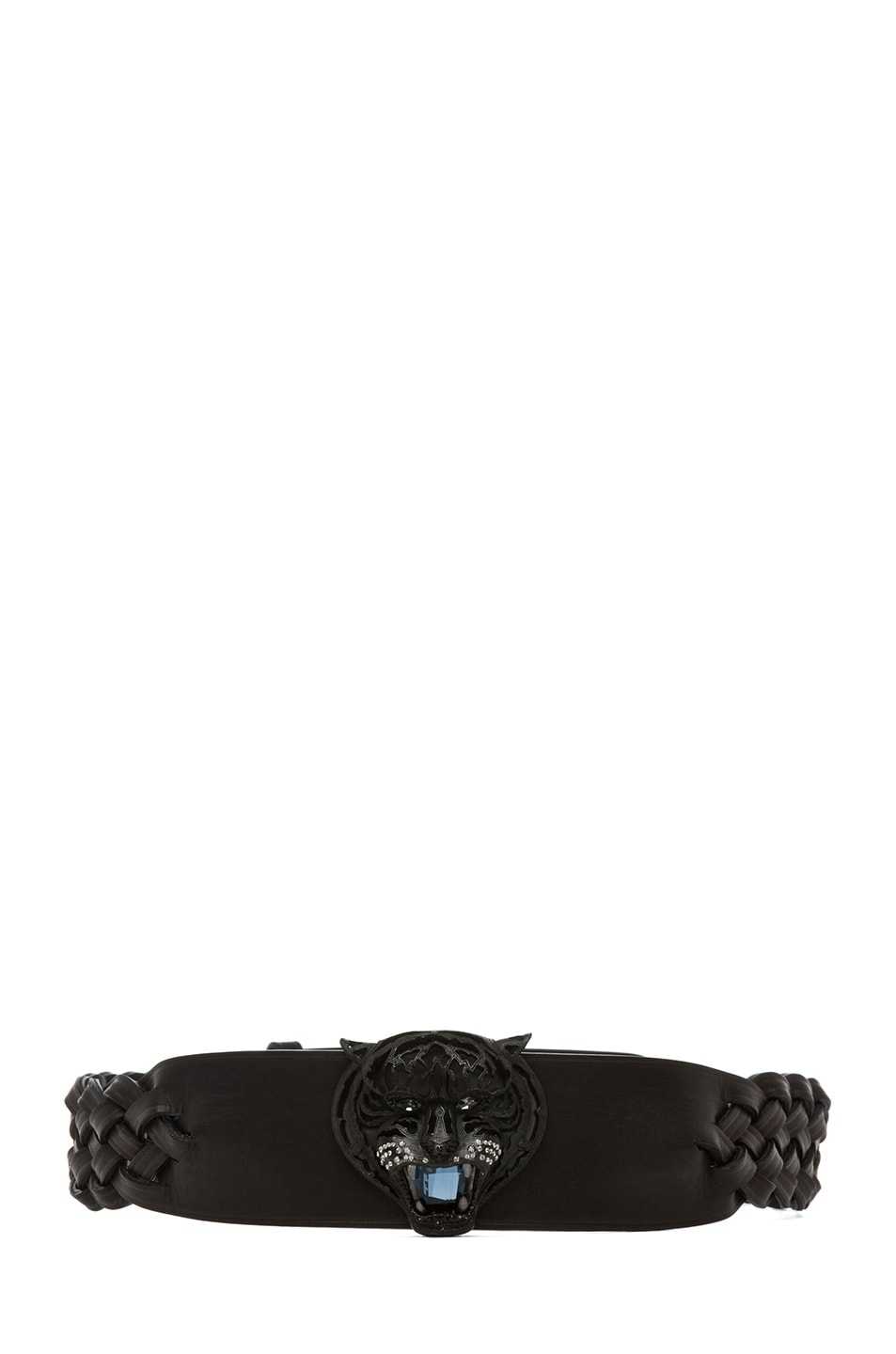Image 1 of Lanvin Tiger Belt in Black