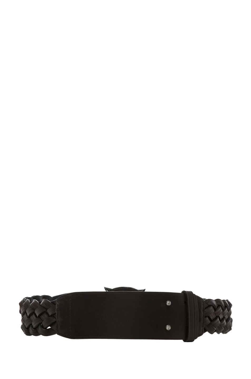 Image 3 of Lanvin Tiger Belt in Black