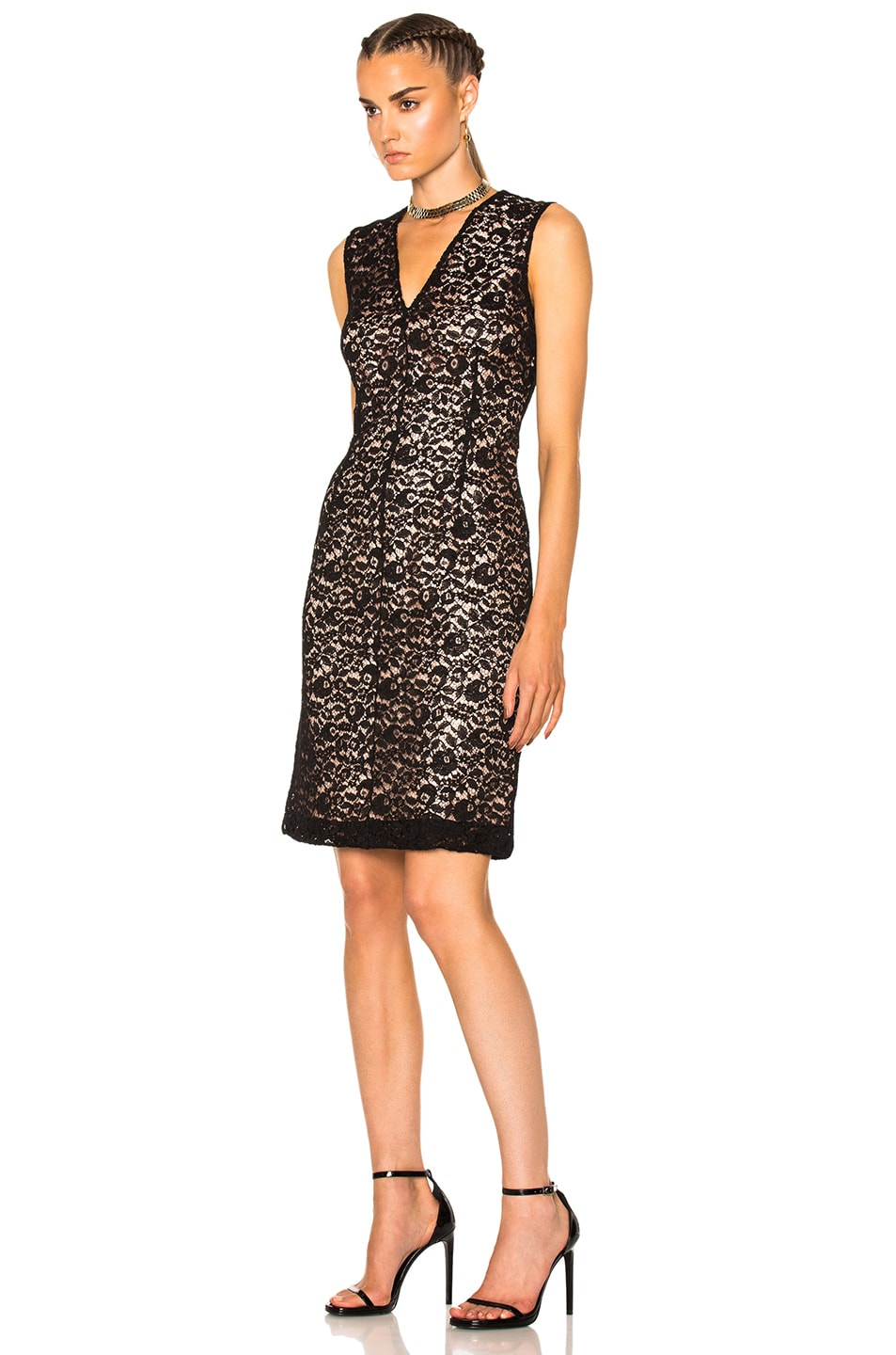 Image 2 of Lanvin Lace Dress in Black