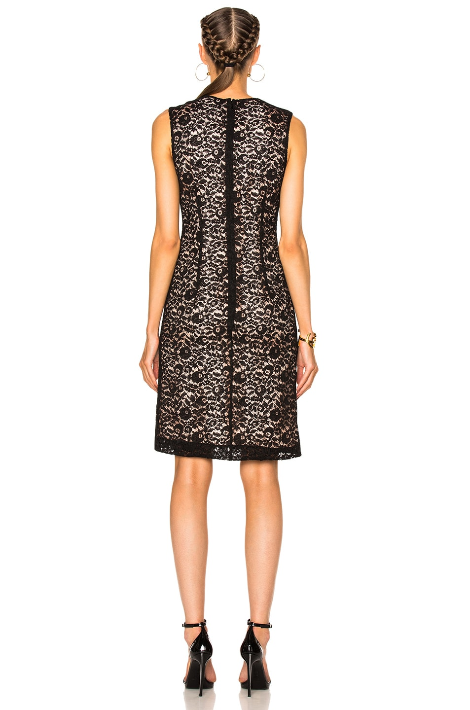 Image 4 of Lanvin Lace Dress in Black