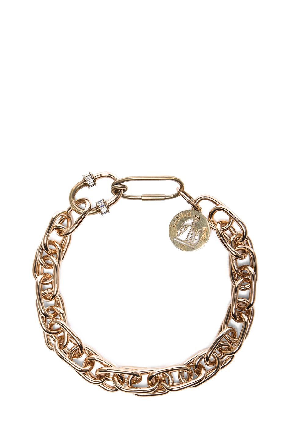 Image 1 of Lanvin Chain Necklace in Gold