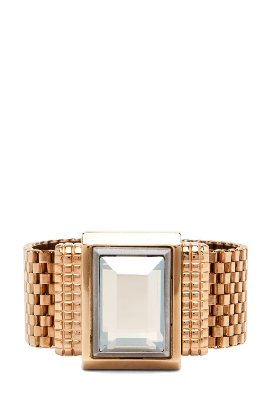 Image 1 of Lanvin Strass Bracelet in Gold