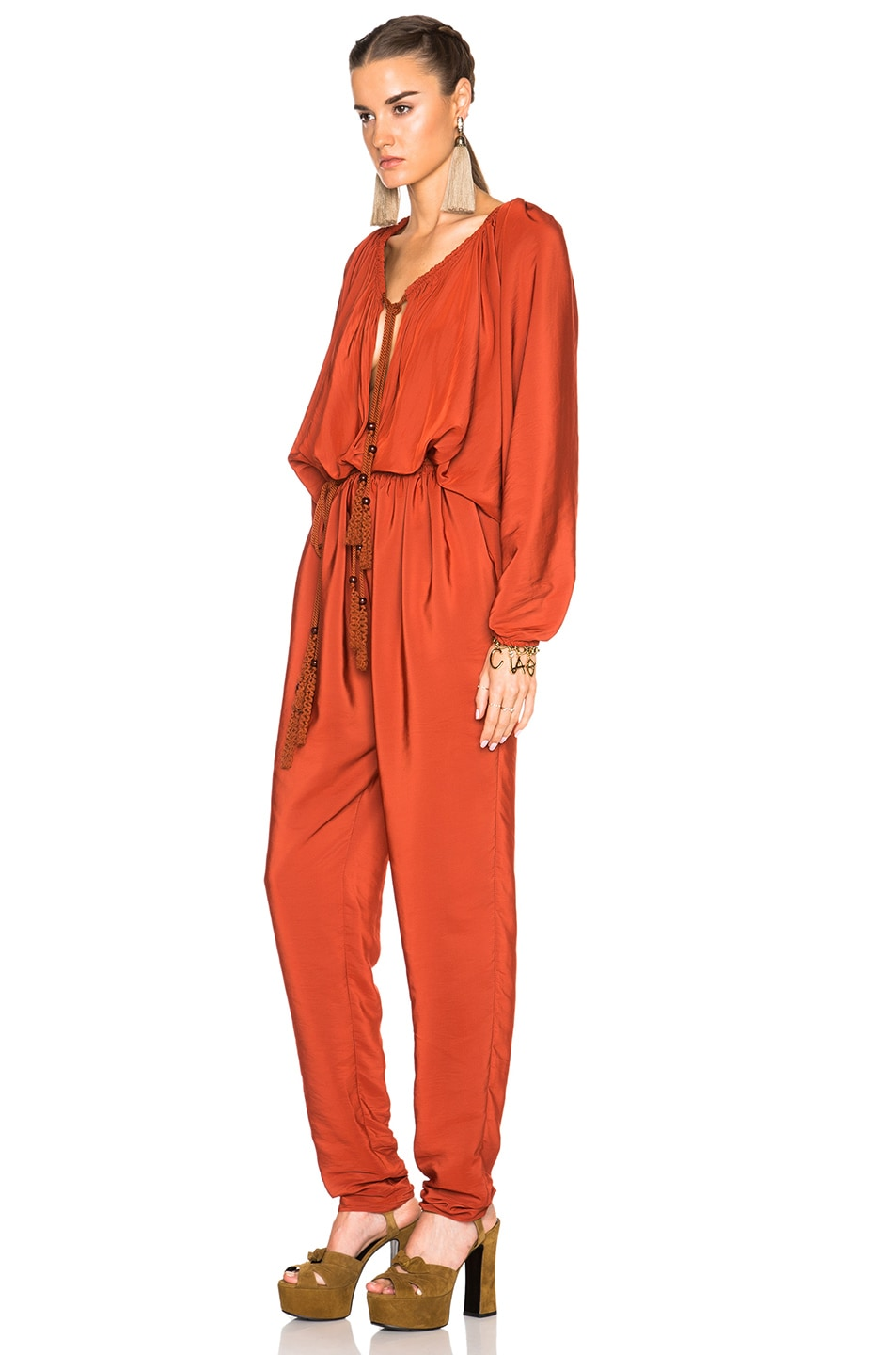 Image 2 of Lanvin Jumpsuit in Ginger Red