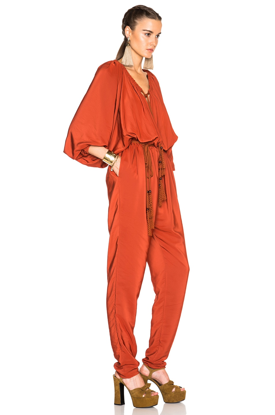 Image 3 of Lanvin Jumpsuit in Ginger Red