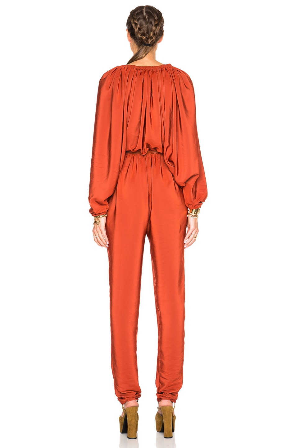 Image 4 of Lanvin Jumpsuit in Ginger Red