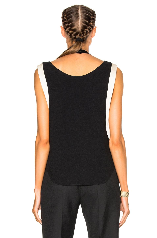 Image 4 of Lanvin Drape Top in Black