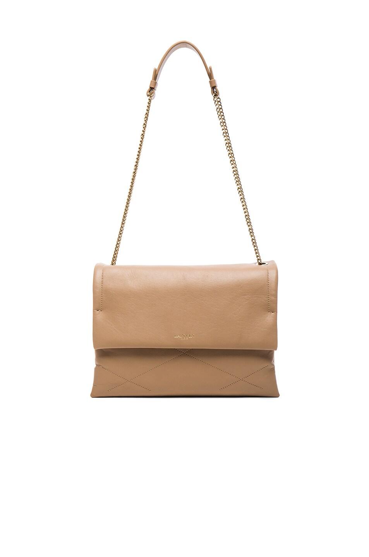 Image 1 of Lanvin Medium Sugar Bag in Sand