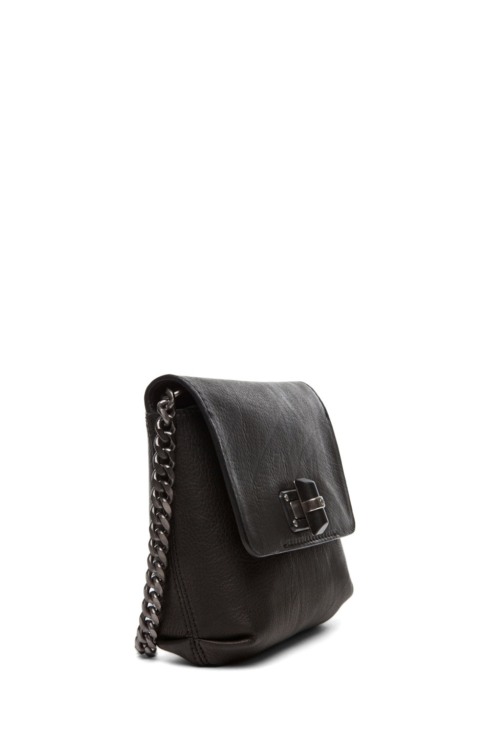Image 3 of Lanvin Mini Pop Happy Crossover Bag in Black