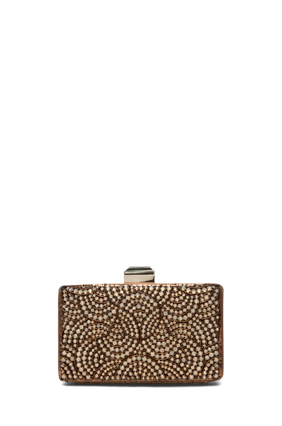 Image 2 of Lanvin Evening Clutch in Camel