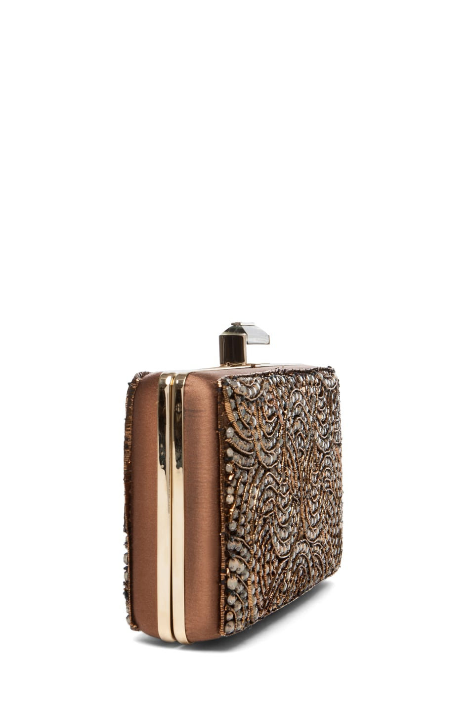 Image 3 of Lanvin Evening Clutch in Camel