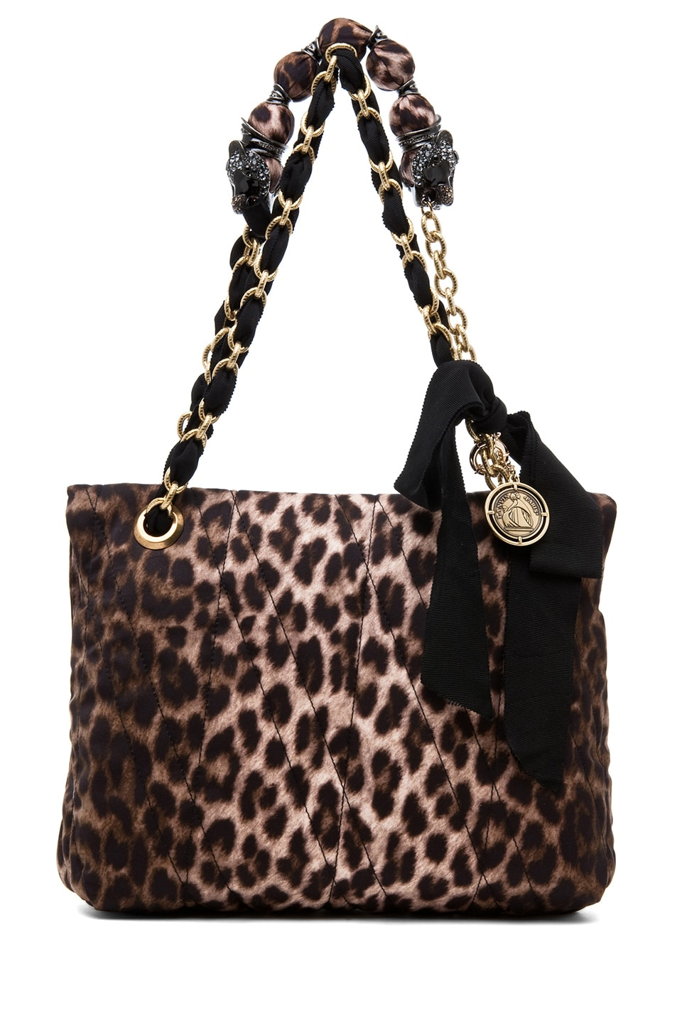 Image 3 of Lanvin 10 Year Anniversary Happy Handbag in Leopard